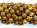 Agate Beads-Brown, 10mm(10.4mm) Round Beads, 15 Inch, Full strand