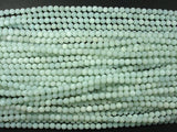 Matte Amazonite Beads, 4mm Round Beads-BeadBasic