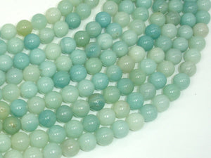 Amazonite Beads, 8mm(8.3mm) Round Beads, 15 Inch, Full strand