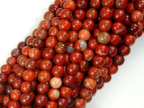 Red Jasper Beads, Round beads, 4mm-BeadBasic