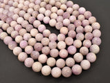Kunzite Beads, 11mm(11.5mm) Round Beads, 15.5 Inch, Full strand