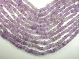 Amethyst Beads, Pebble Chips, 6mm - 10mm, 16 Inch