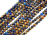Mosaic Stone Beads, Round, 6mm-BeadBasic