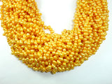 Fresh Water Pearl Beads, Gold, Top drilled, Dancing beads-BeadBasic