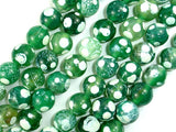 Agate Beads, Round, 12mm, 15.5 Inch-BeadBasic