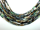 Abalone Beads, Stick, Approx 5x16mm, 16 inch