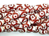 Tibetan Agate Beads, Rice, 10 x 14mm-BeadBasic