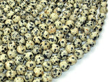 Dalmation Jasper Beads, Round, 8mm-BeadBasic