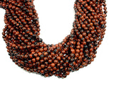 Mahogany Obsidian Beads, Round, 8mm-BeadBasic