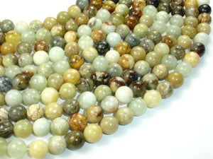 Jade Beads, Round, 10mm-BeadBasic