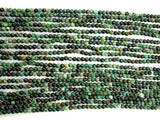African Turquoise Beads, Round, 2mm (2.3 mm), 16 Inch