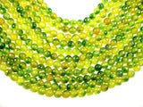 Agate Beads, 10mm Faceted Round Beads, 15 Inch, Full strand