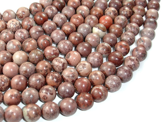 Artistic Jasper Beads, 12mm Round Beads, 16 Inch, Full strand