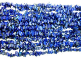 Lapis Lazuli Beads, 5-9mm Chips-BeadBasic