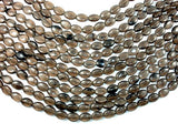 Smoky Glass Beads, 10x14mm Oval Beads-BeadBasic