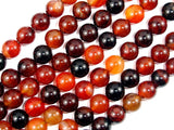 Sardonyx Agate Beads, Round, 10mm-BeadBasic