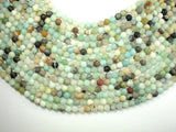 Matte Amazonite Beads, 6mm Round Beads-BeadBasic