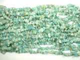 Amazonite Beads, 4mm - 9mm Chips Beads, 34 Inch, Long full strand-BeadBasic