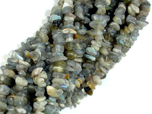 Labradorite Beads, 4mm - 9mm Chips Beads-BeadBasic