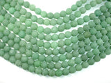Matte Green Aventurine Beads, 10mm Round Beads, 15.5 Inch, Full strand