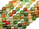 Agate Beads, 10mm (10.5 mm) Round Beads, 15 Inch, Full strand