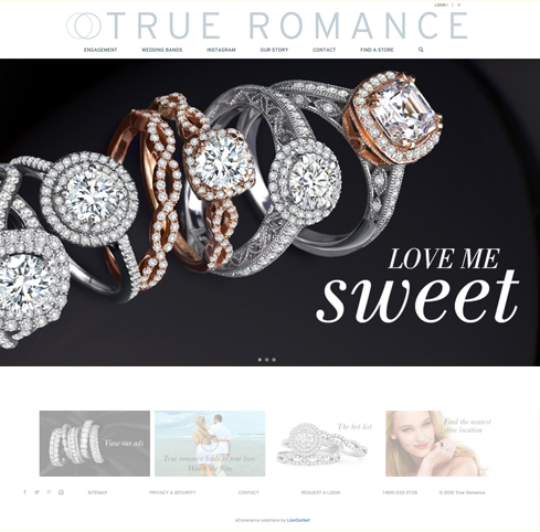 True Romance Web Design