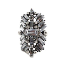 Jewel Clustered Ring