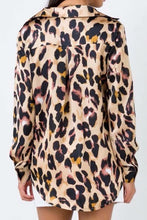 Leopard Painted Blouse