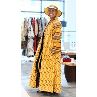 72855467a54a1 Kente African Fabric Caftan – JUNNY.NYC