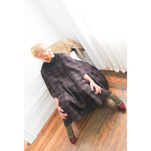 Double Sided Wool Cape - JUNNY.NYC