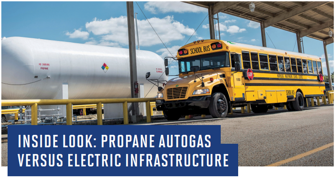 Propane Refueling vs. Electric Recharging Fact Sheet
