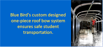 Blue Bird School Bus Bow System