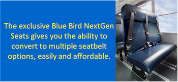 Blue Bird School Bus Seat Safety