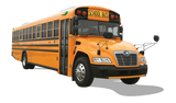 Blue Bird CNG School Bus