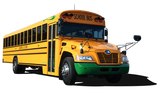 Blue Bird Vision Electric School Bus