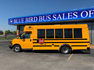 2020 Micro Bird 35 Passenger Gasoline Powered School Bus