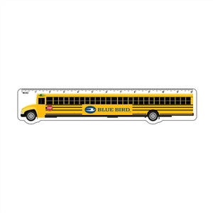 "12"" Blue Bird Bus Ruler"