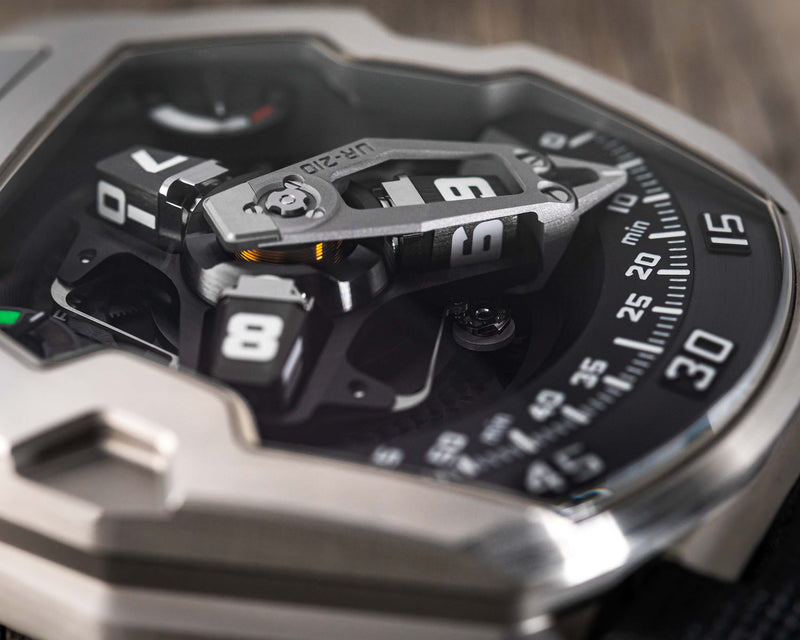 UR-210 STEEL LIMITED EDITION RETROGRADE