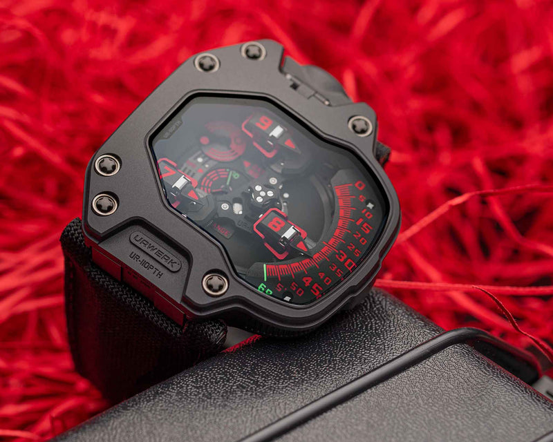 UR-110 PTH BLACK RED LIMITED EDITION OF 20 PIECES