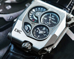URWERK EMC Steel wristwatch
