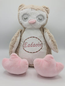 Personalised Soft Plush Owl