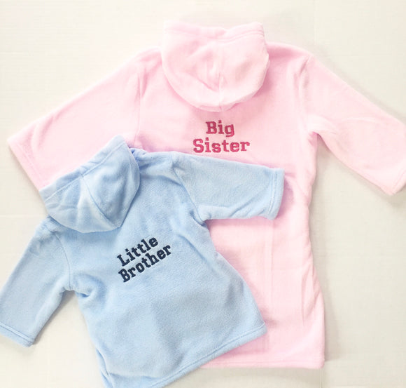 Big or Little Brother/Sister Single Robe