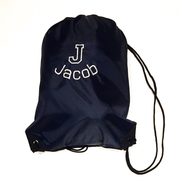 Personalised Drawstring PE Bag