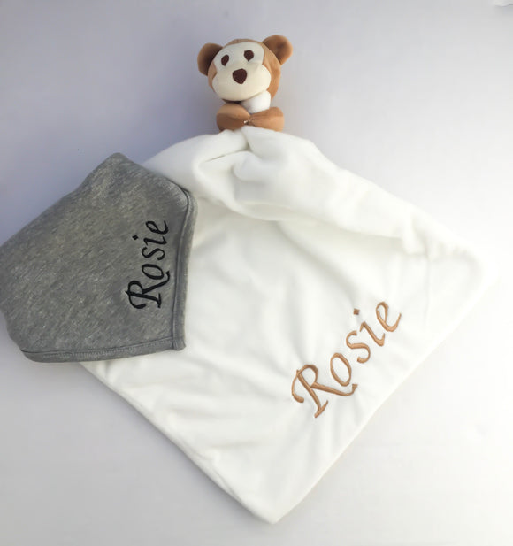 Comforter and Bib Set