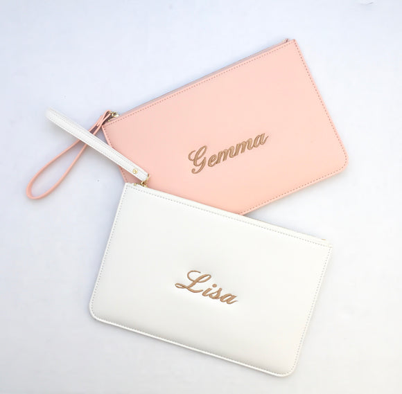 Personalised Faux Leather Bag