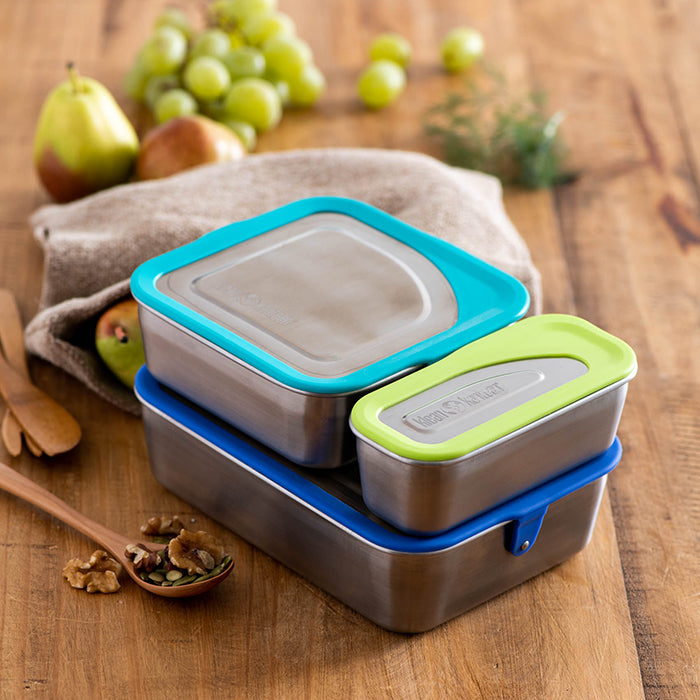 Set of Lunch, Snack and Meal Food Containers
