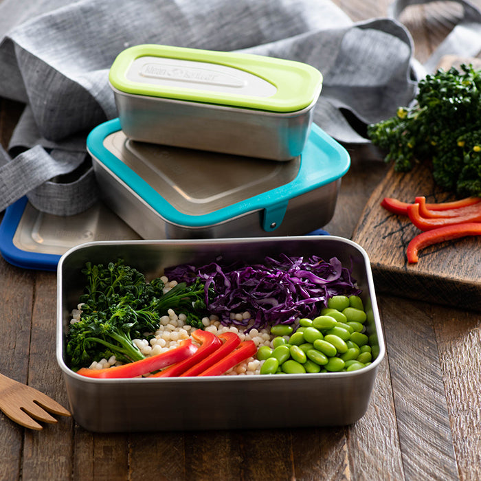 Steel Lunch Box Set - 3 Sizes