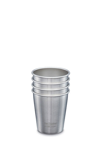 Steel Pint 10oz - 4 Pack