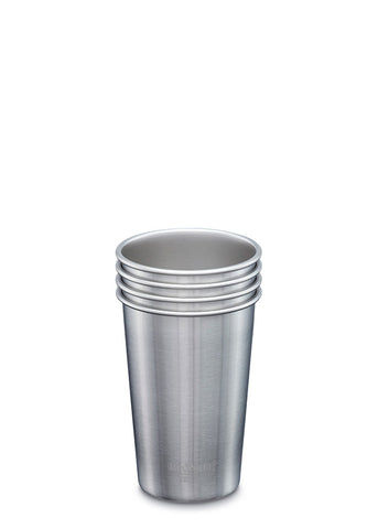 Steel Pint 16oz - 4 Pack