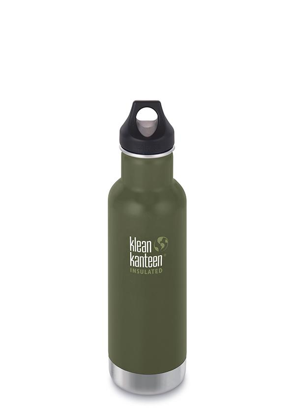 Klean Kanteen Classic Insulated Water Bottle in 20oz Fresh Pine Color